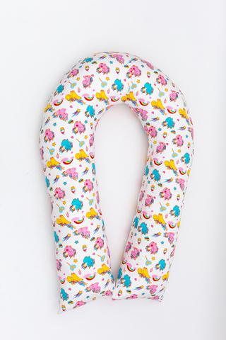 Подушка для беременных U360 (лебяжий пух) 10552 единорог