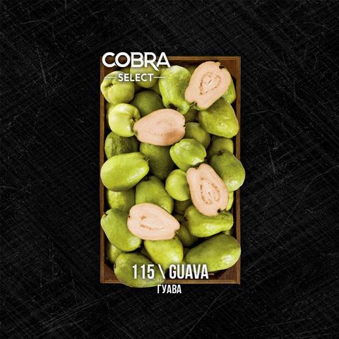 Табак Cobra SELECT Гуава (Guava) 40 г