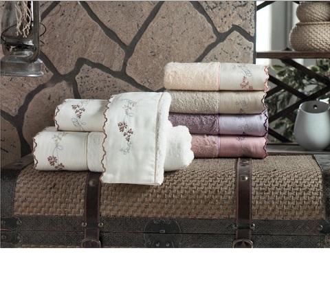Набор полотенец ELYSEE - ЭЛИСИ 3пр 30х50 50х90 и 70х140 Maison Dor (Турция)