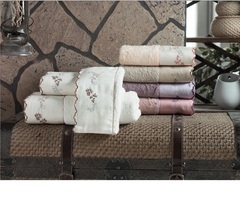 Набор полотенец  3 предмета ELISSY - ЭЛИСИ / Maison Dor (Турция)