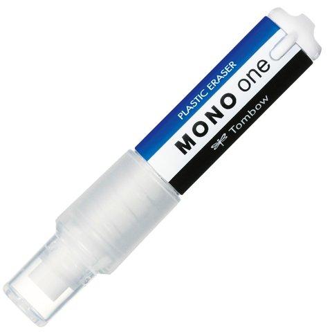 Ластик-ручка Tombow Mono One (сине-бело-черный)