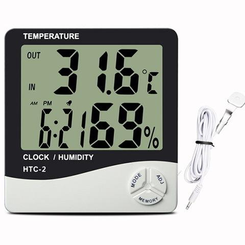 Термометр c гигрометром HTC-2