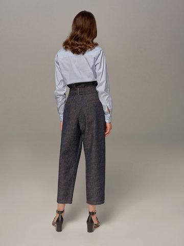 Женские синие брюки Eleventy - фото 2