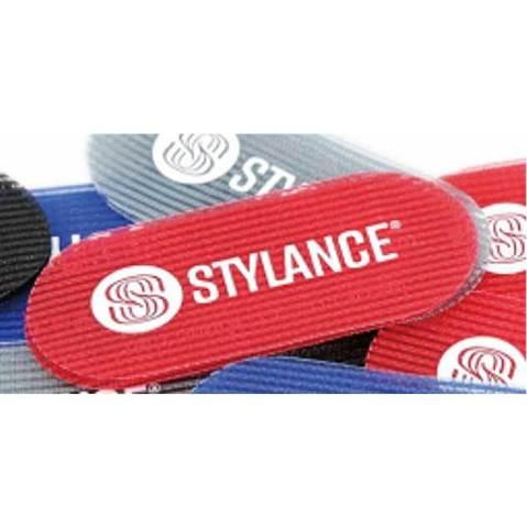 Липучки для фиксации волос Stylance, 2 штуки, красные