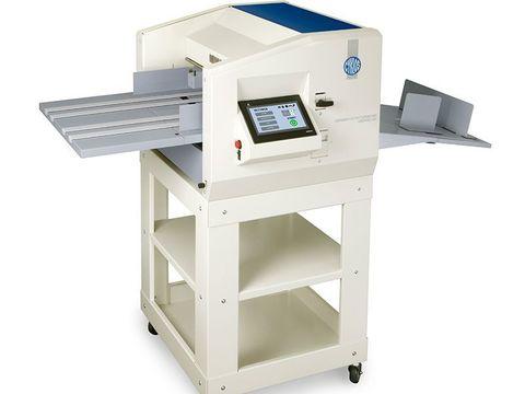 Вакуумный программируемый биговальный аппарат Cyklos Airspeed 450 - тип биговки/перфорации: электрическая, плотность бумаги биговки: до 400г/м2, плотность бумаги перфорация: до 250г/м2, ширина бига: 1,0 мм