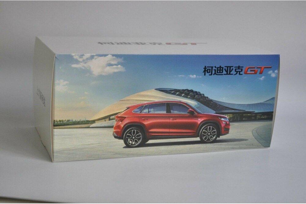 Коллекционная модель SKODA KODIAQ GT 2019 RED