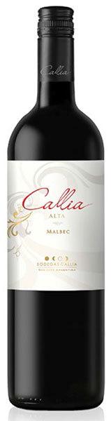 Вино Каллия Альта Мальбек красное полусухое 0,75л