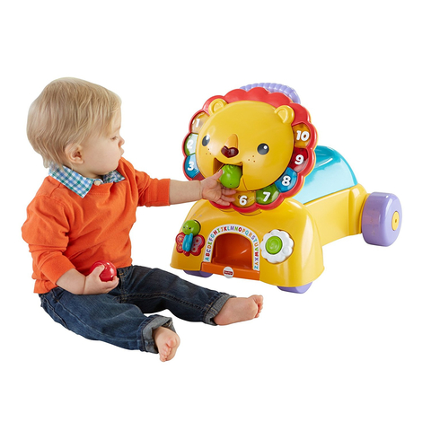 Каталка-толокар Fisher-Price Львенок напрокат