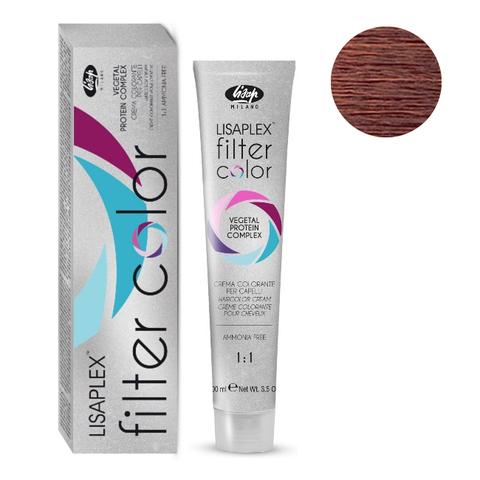 Оттенок медный металлик Крем-краситель для волос Lisaplex Filter Color 100мл