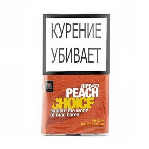 Табак M.B.сигарет. RIPE PEACH CHOICE (p40gr)