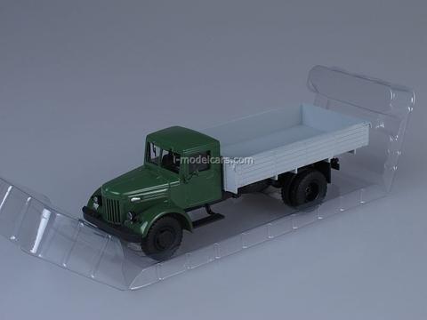 MAZ-200 board green-white 1:43 AutoHistory