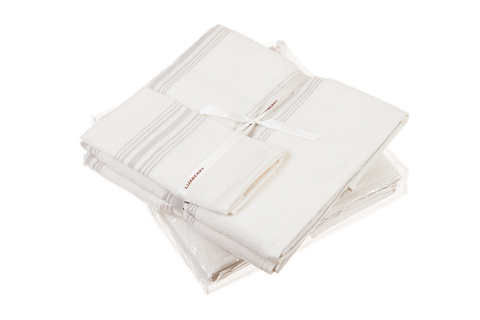 Набор полотенец 3 шт Luxberry SPA 1 белый/льняной