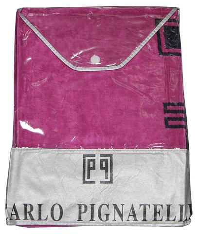 Полотенце пляжное 100х180 Carlo Pignatelli Castelli Fuxia