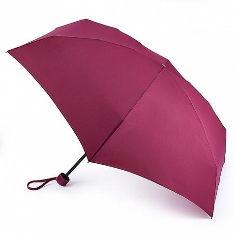 Fulton женский зонт механический (бордовый)
