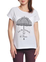 37662-8-3 футболка женская, белая