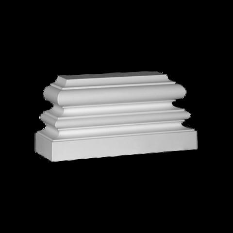 База (пилястра) Европласт из полиуретана 4.53.201, интернет магазин Волео