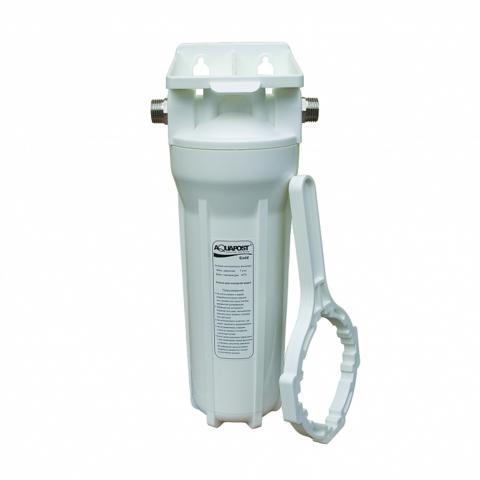 Магистральный водоочиститель Aquapost Cold 1/2 Fe+2 для удаления железа из воды.