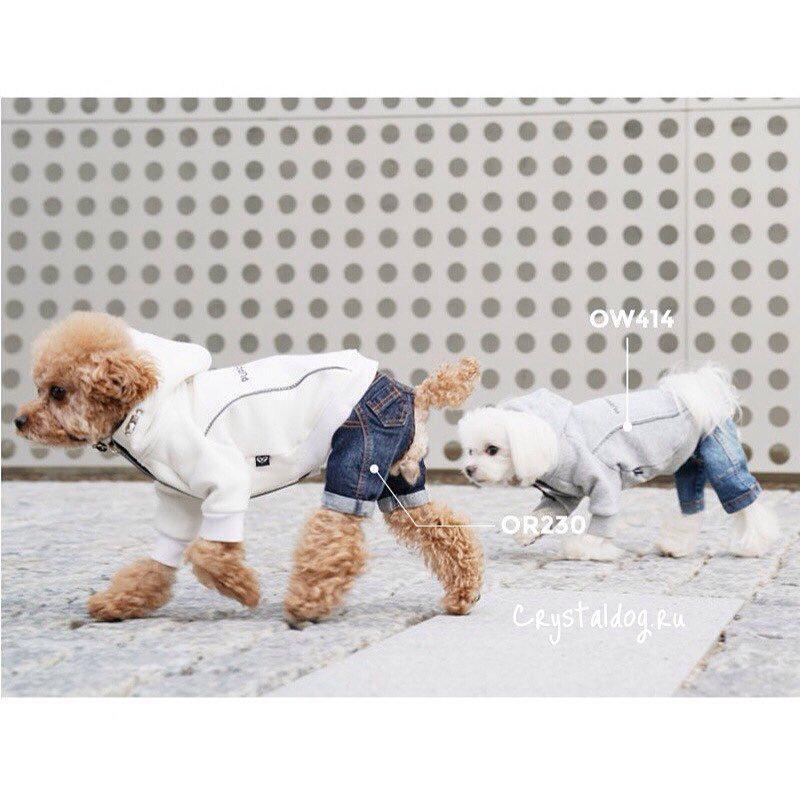 414 PA - Толстовка для собак на меху