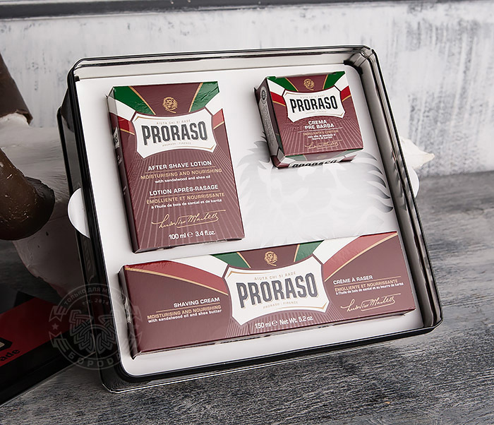 Proraso, Подарочный набор PRORASO VINTAGE SELECTION PRIMADOPO proraso vintage selection gino набор для бритья подарочный 350 мл
