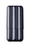 Чехол Lubinski на 3 сигары, карбон FK-1382