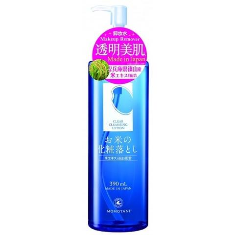 Лосьон для снятия макияжа очищающий Momotani Rice Clear Cleansing Lotion 390мл
