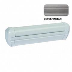 Маркиза настенная с мех.приводом DOMETIC Premium DA2040, цв.корп.-белый, ткани-серебро, Ш=4,05м