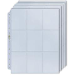 Ultra pro - 100 листов для папки на кольцах (3х3) Platinum