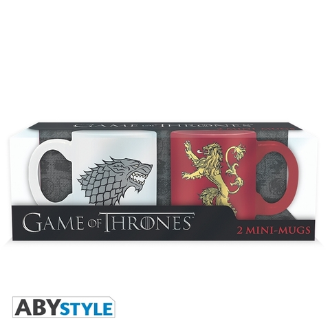 Кружка ABYstyle: Game of Thrones: Stark & Lannister (набор 2 шт.) ABYMUG196