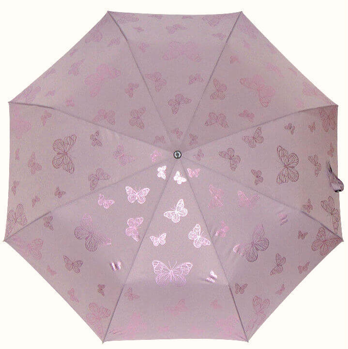 Зонт складной P.Cardin 82532 Papillion Métallique