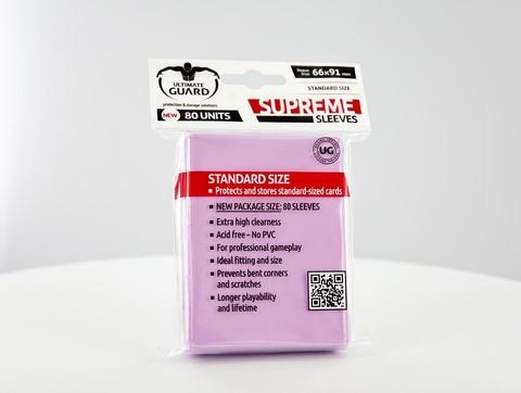 Ultimate Guard - Розовые протекторы 80 штук