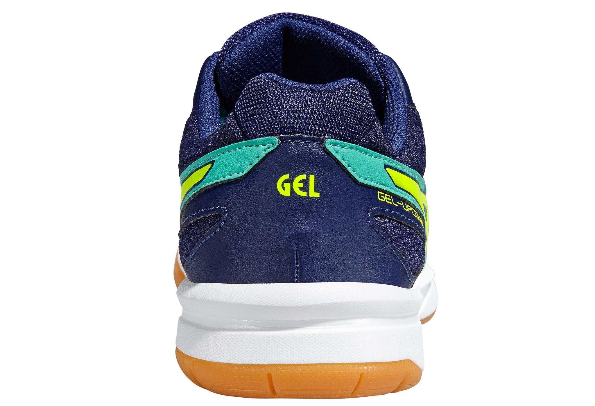Женские волейбольные кроссовки Асикс Gel-Upcourt (B450N 7007) бирюзовые фото