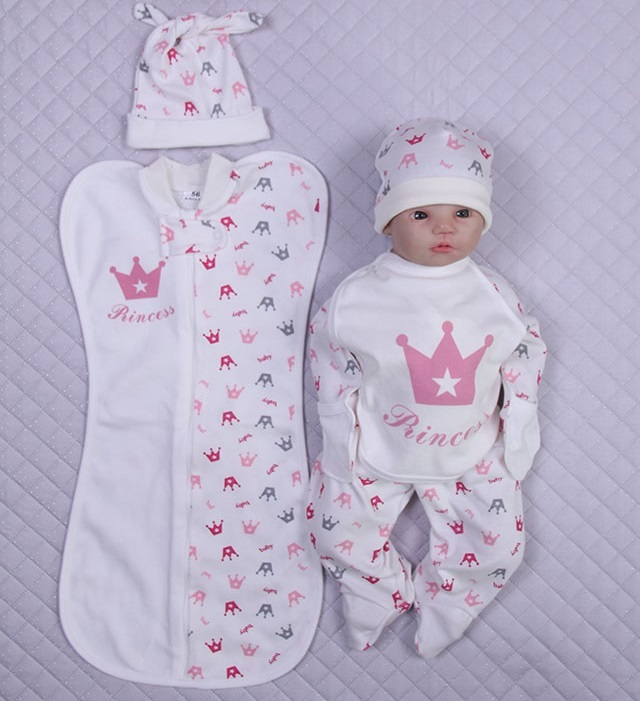 fab42a626dff8 Набор одежды для новорожденного в роддом - купить по по лучшей цене ...