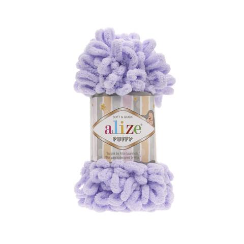 Купить Пряжа Alize Puffy Код цвета 146 Лаванда | Интернет-магазин пряжи «Пряха»