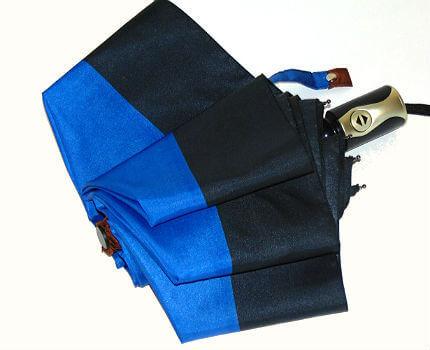 Зонт складной Guy de Jean 6411-3 Blue
