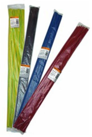 Термоусаживаемая трубка ТУТнг 10/5 желто-зеленая по 1м (50 м/упак) TDM