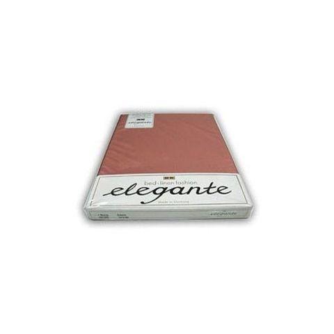 Элитная простыня сатиновая 6800 розовая от Elegante