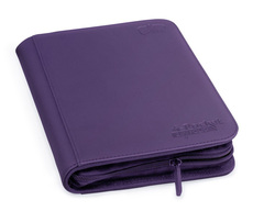 Ultimate Guard - Фиолетовый гибкий альбом XenoSkin на молнии на 160 карт (2х2)