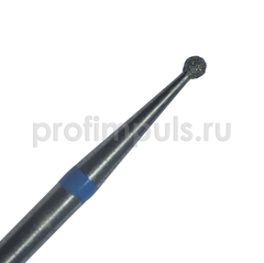 001.014 фреза алмазная шарик 1,4 мм средней зернистости