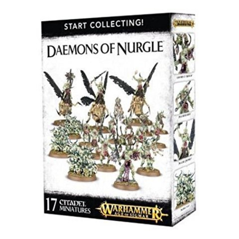 START COLLECTING! DAEMONS OF NURGLE (2016)