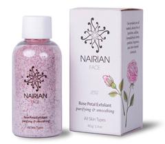 Скраб для лица с лепестками розы, Nairian