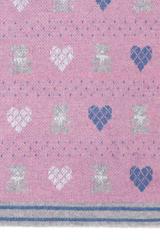 Элитный плед детский Lux Bear розовый от Luxberry