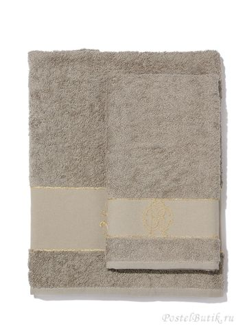 Набор полотенец 3 шт Roberto Cavalli Araldico серый