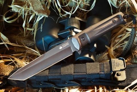 Тактический нож Aggressor D2 Black Titanium
