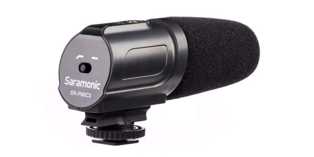 Микрофон-пушка Saramonic SR-PMIC3 Surround вид сзади