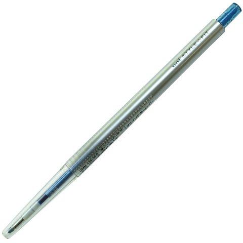 Гелевая ручка 0,38 мм Uni Style Fit - Light Blue - голубые чернила