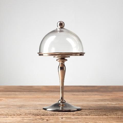 Чаша с крышкой на ножке 23 см Roomers Exstera