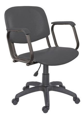Парикмахерское кресло КОНТАКТ пневматика черная