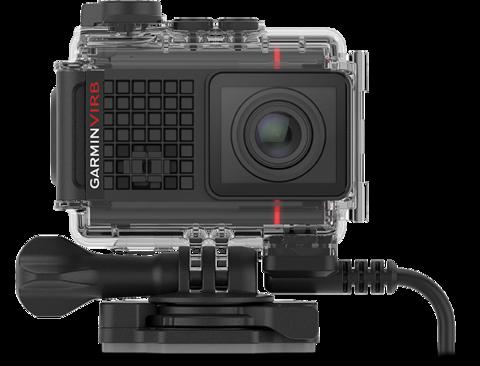 Экшн-камера GARMIN Ultra 30 4K с GPS с кейсом и кабелем электроподключения