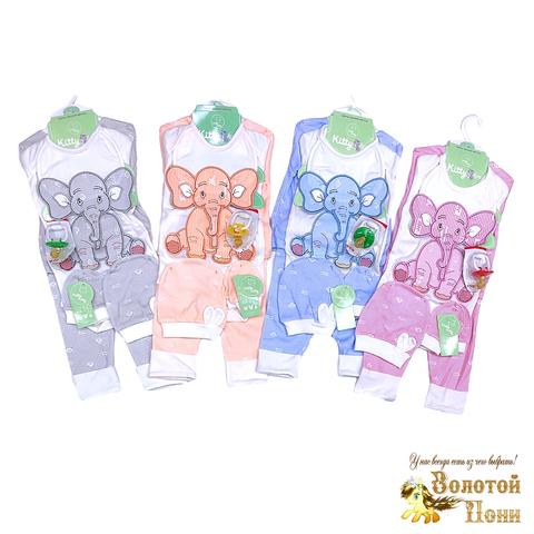 Комплект новорожденному 7 предметов (0-3) 200313-Р8841