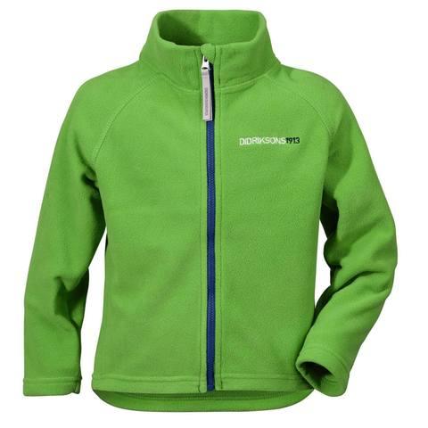 Куртка для детей Didriksons Monte kids - Kryptonite green (зеленый)
